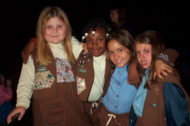 Girl Scouts Rededication