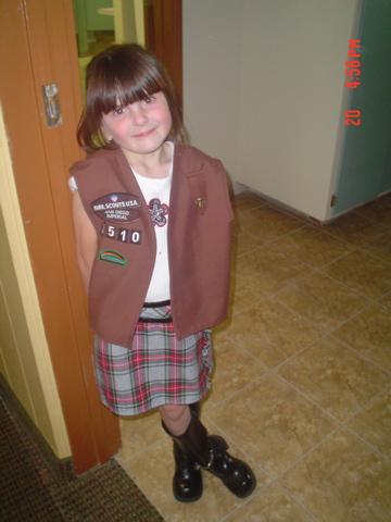 Girl Scout Bridging