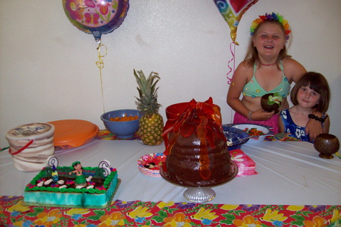 Lauren and Kaelynn's Birthday Luau